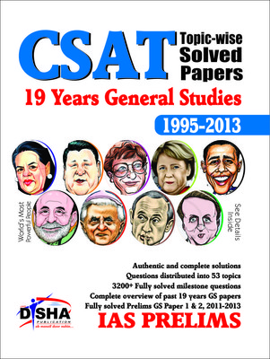 CSAT Topic-wise Solved Papers: 19 Years General Studies 1995 - 2013